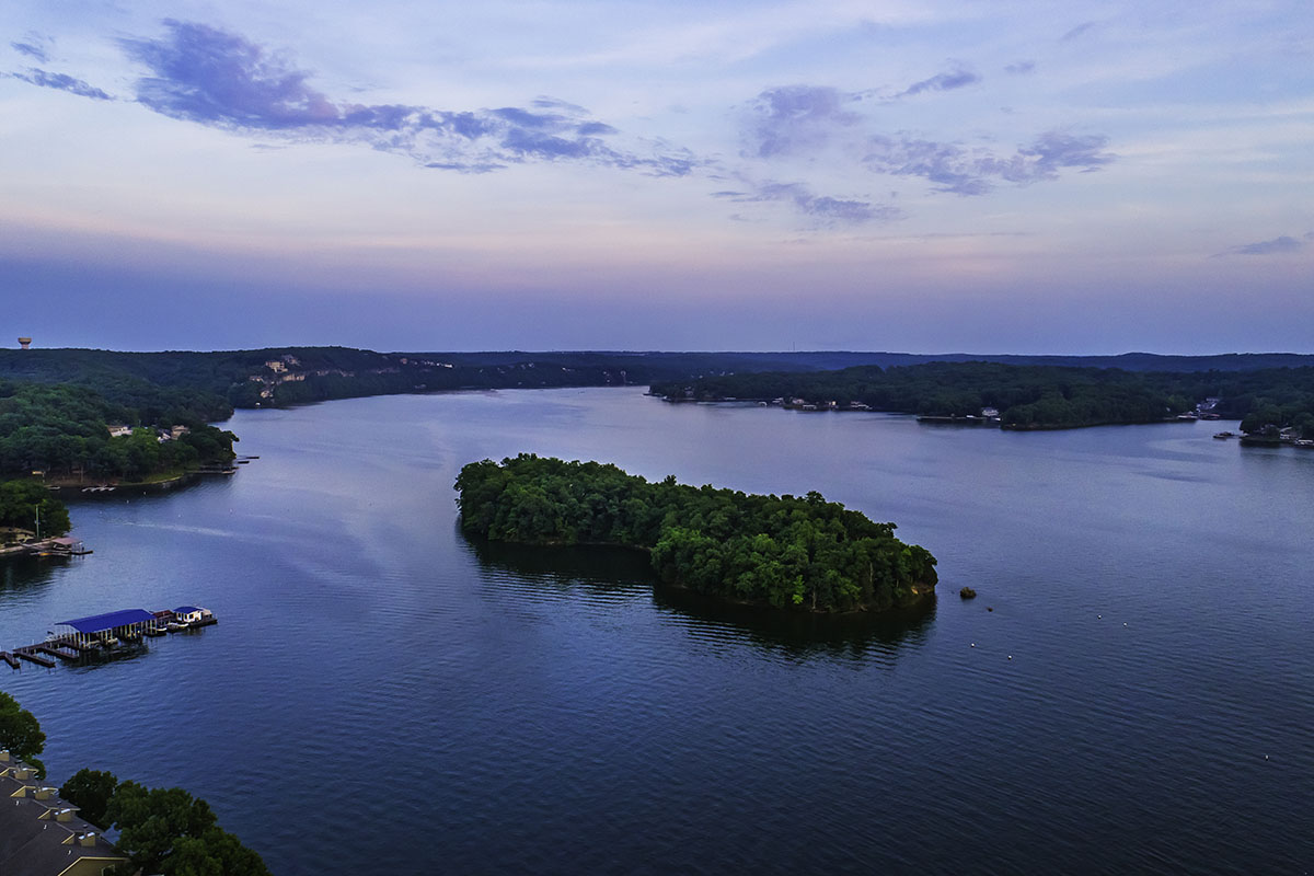 Gorgeous Private Island at Lake of the Ozarks