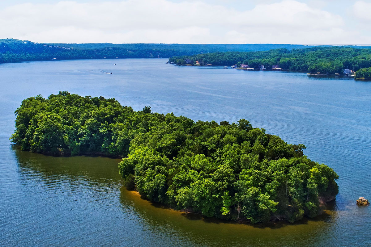 Private Island Lake of the Ozarks, MO