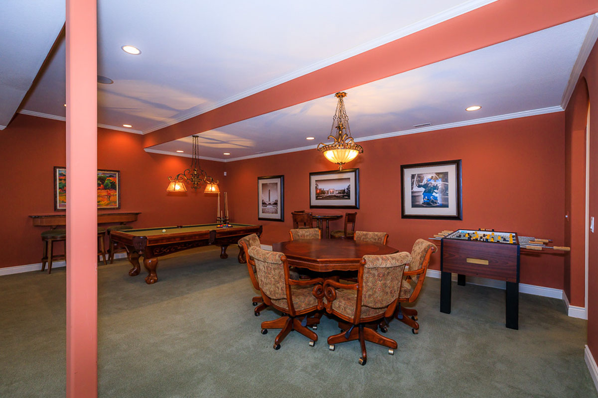Four Seasons Home Game Room
