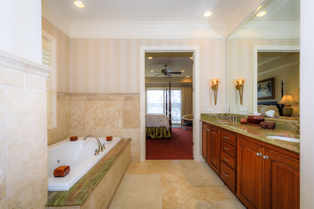 Four Seasons Home Master Bedroom Bath
