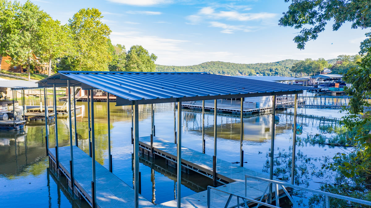 Climax Springs, MO Home dock